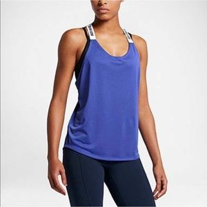 Nike Women's Blue Elastika Tank